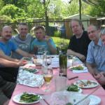 John Johnson, Tom Skublics, Anthony Panacci, Vern Dorge, Shelly Berger, Andy Ballantyne, Mike Murley