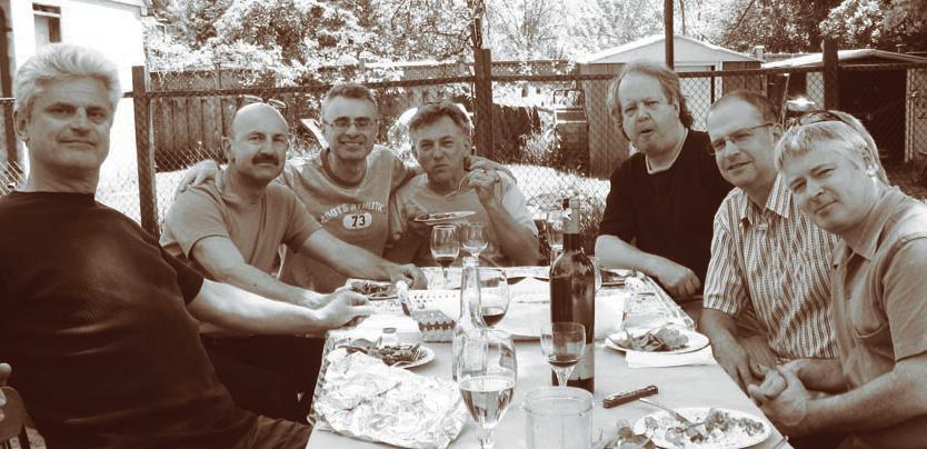 John Johnson, Tom Skublics, Anthony Panacci, Vern Dorge, Shelly